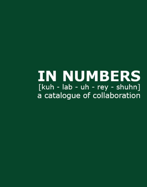 b-r-g- collective, xvi collective, in numbers publication