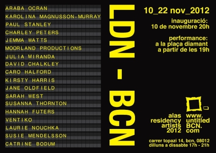 ve, ldn-bcn exhibition, art, artist