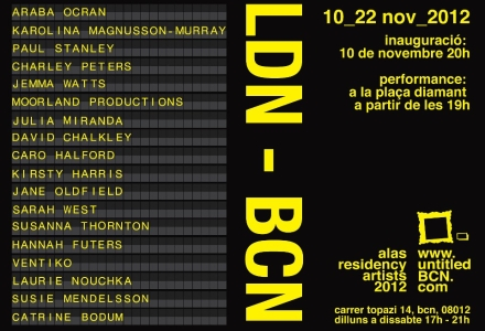 ve, ldn-bcn exhibition, art, artist