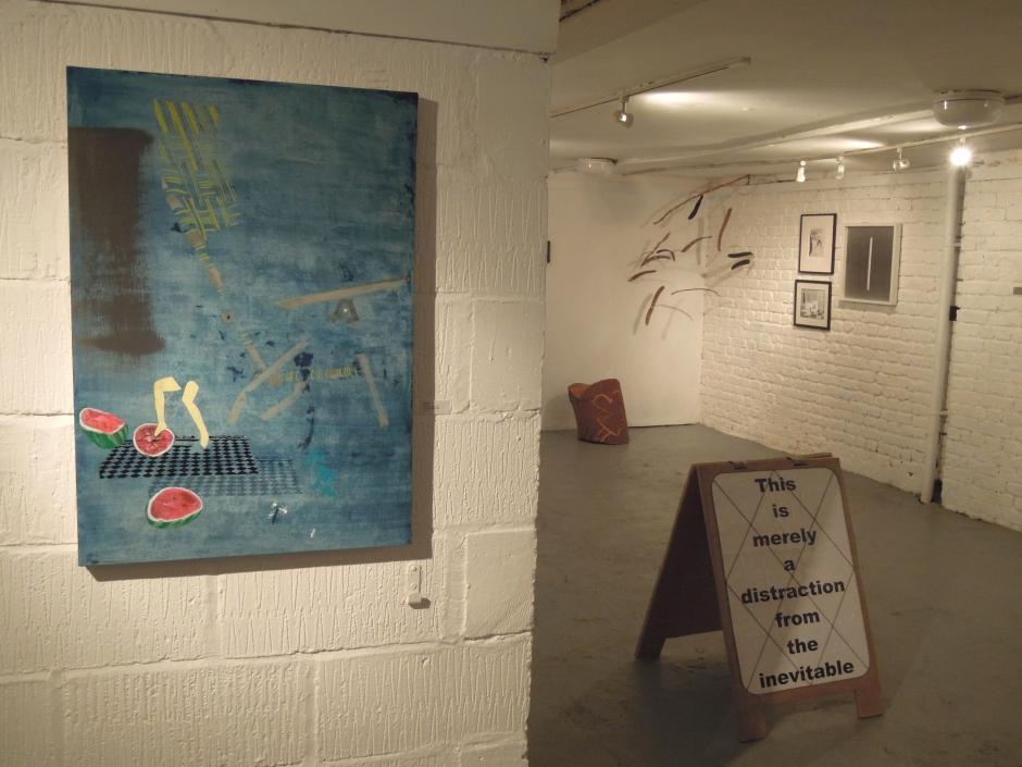 La Petite Muerte, drawers gallery. xvi artists