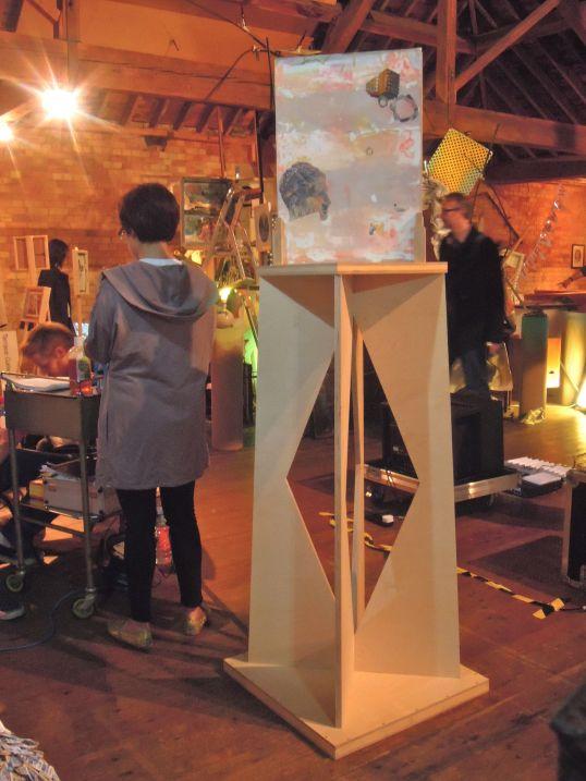 sarah west, xvi collective, sluice art fair 2013, london, art, artist