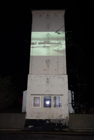Undercurrent projection by Paul Stanley