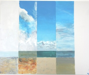 Jane Oldfield - Skies from Aldeburgh Lookout