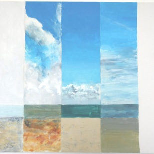 Jane Oldfield - Skies from Aldeburgh Lookout
